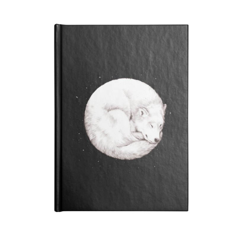 The Howl of the Moon Accessories Notebook by Daniel Teixeira—Artworks