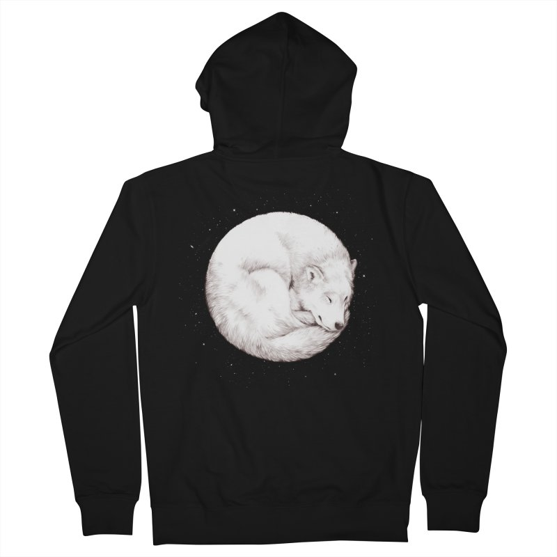 The Howl of the Moon Men's Zip-Up Hoody by Daniel Teixeira—Artworks
