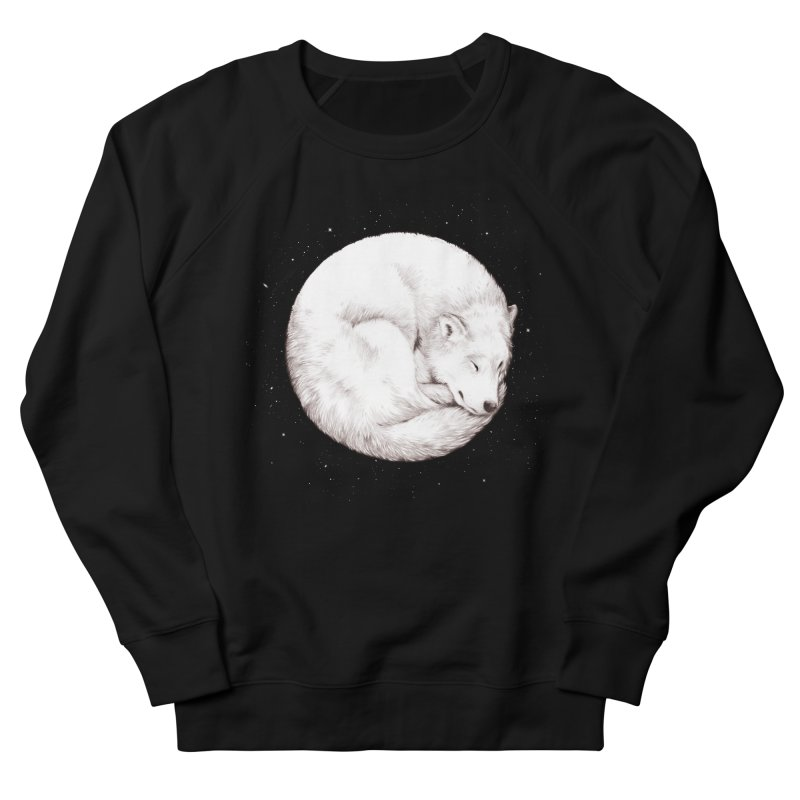 The Howl of the Moon Women's French Terry Sweatshirt by Daniel Teixeira—Artworks
