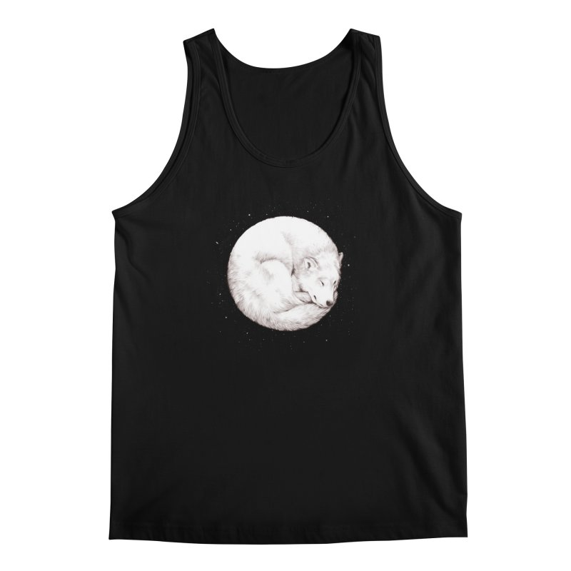 The Howl of the Moon Men's Tank by Daniel Teixeira—Artworks
