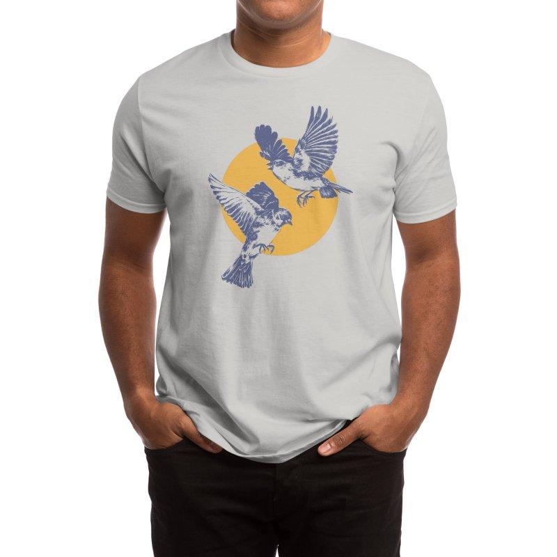 Sparrows Men's T-Shirt by Daniel Teixeira—Artworks