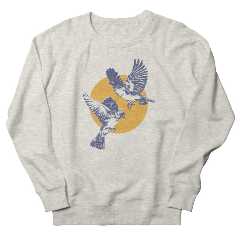 Sparrows Women's French Terry Sweatshirt by Daniel Teixeira—Artworks