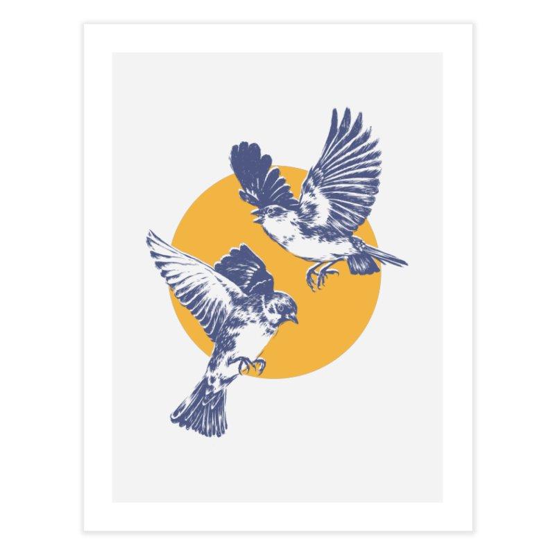 Sparrows Home Fine Art Print by Daniel Teixeira—Artworks