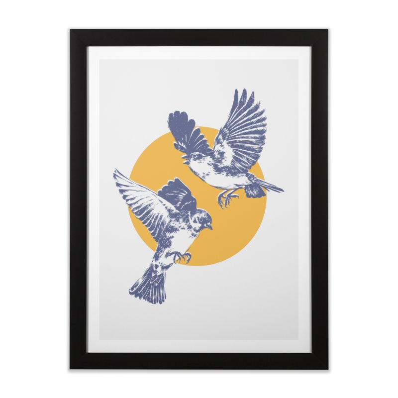 Sparrows Home Framed Fine Art Print by Daniel Teixeira—Artworks