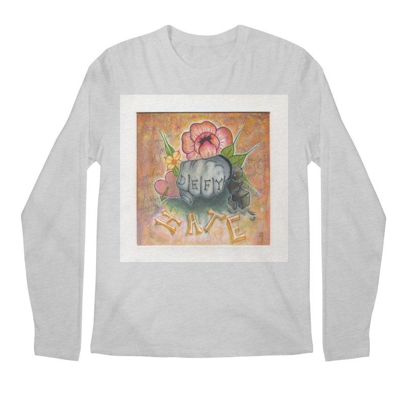 DEFY Men's Regular Longsleeve T-Shirt by danikakristine's threadless shop