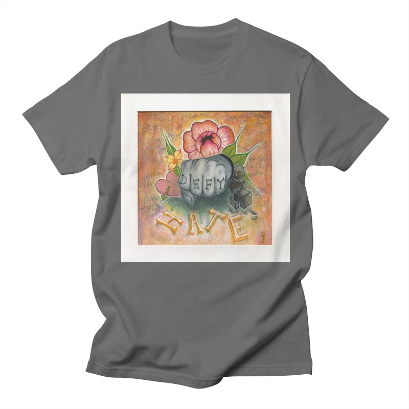 DEFY Women's Regular Unisex T-Shirt by danikakristine's threadless shop