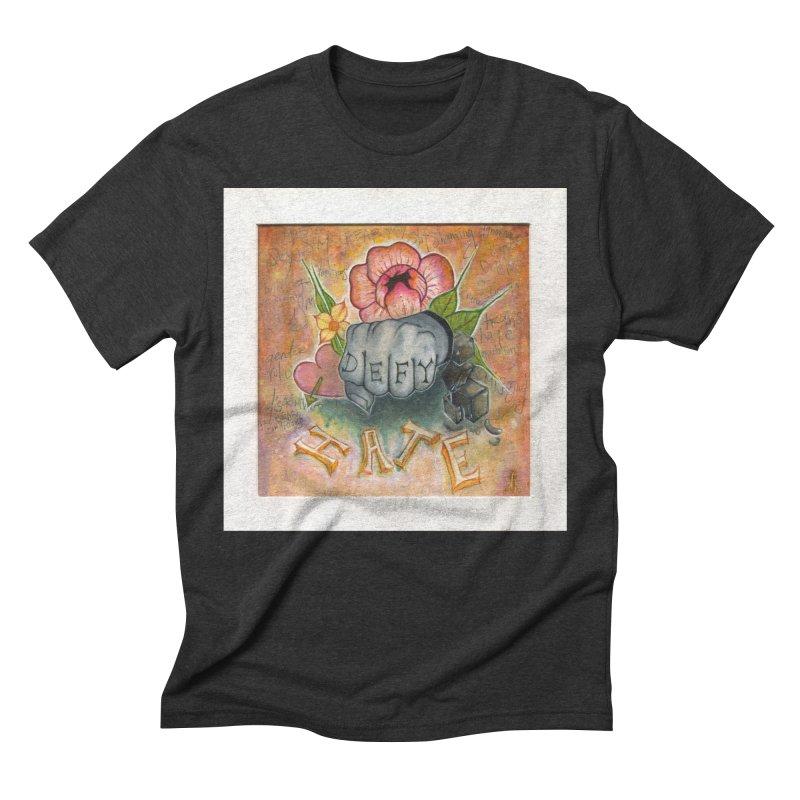 DEFY Men's Triblend T-Shirt by danikakristine's threadless shop