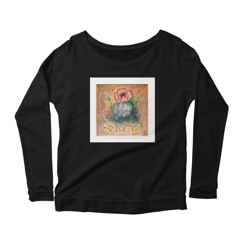 DEFY Women's Scoop Neck Longsleeve T-Shirt by danikakristine's threadless shop