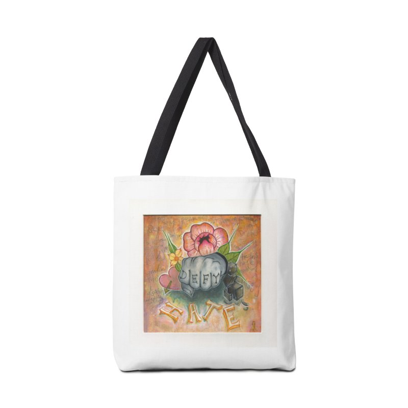 DEFY Accessories Tote Bag Bag by danikakristine's threadless shop