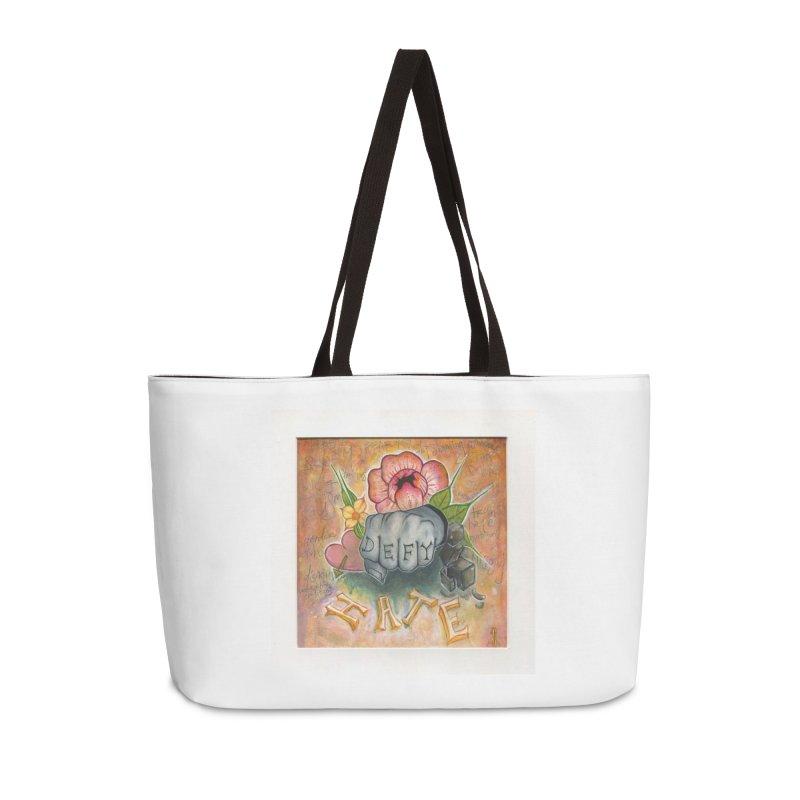 DEFY Accessories Weekender Bag Bag by danikakristine's threadless shop