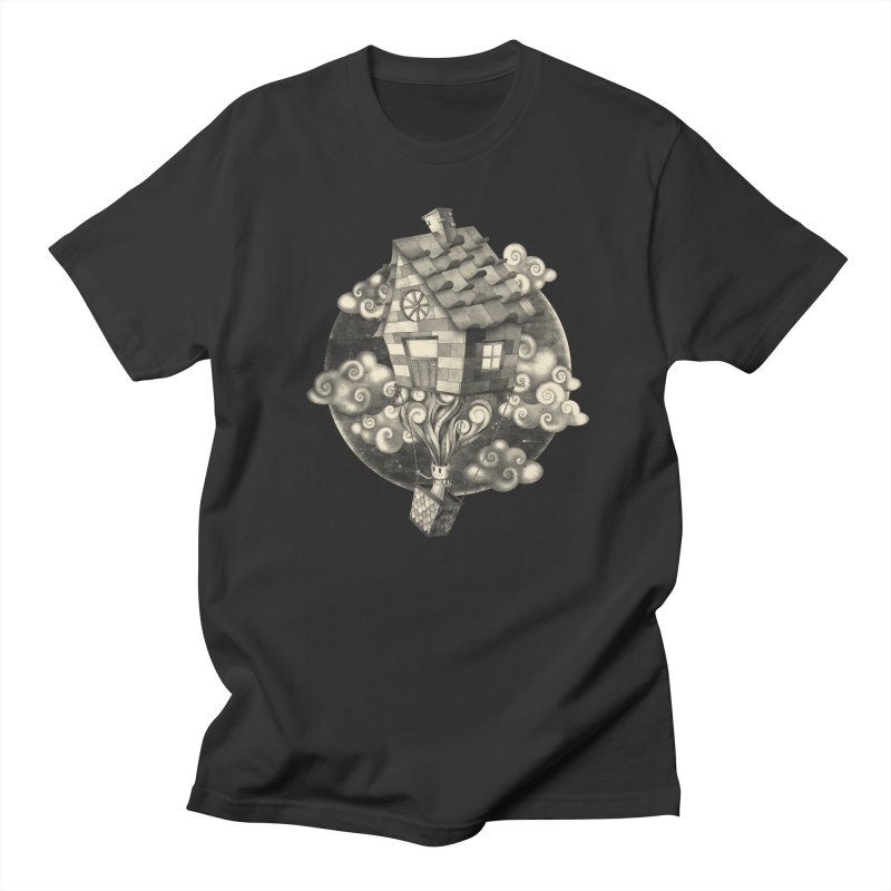 HIGH MIND Men's Regular T-Shirt by danilocintra's Artist Shop