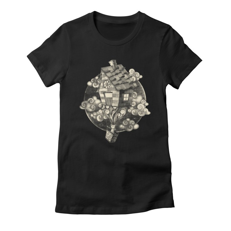 HIGH MIND Women's Fitted T-Shirt by danilocintra's Artist Shop