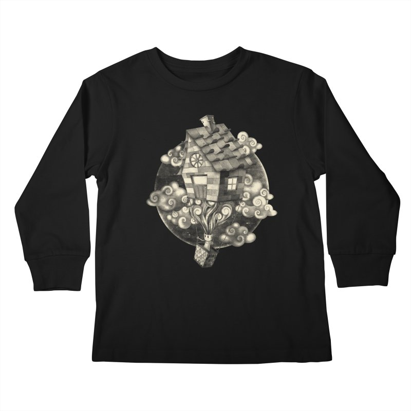 HIGH MIND Kids Longsleeve T-Shirt by danilocintra's Artist Shop