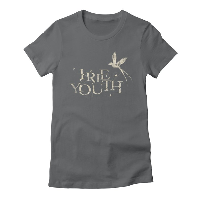 IRIE YOUTH Women's Fitted T-Shirt by danilocintra's Artist Shop
