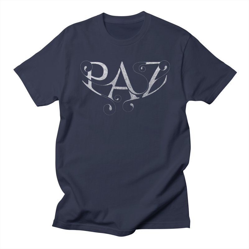 PAZ Men's Regular T-Shirt by danilocintra's Artist Shop