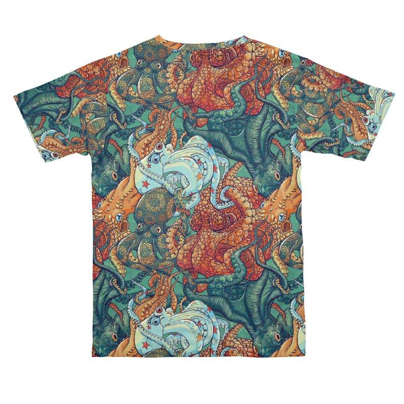 Octopus Party Men's Cut & Sew by danilopezstudio's Artist Shop