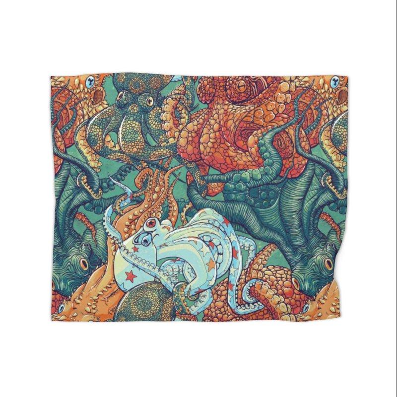 Octopus Party Home Blanket by danilopezstudio's Artist Shop
