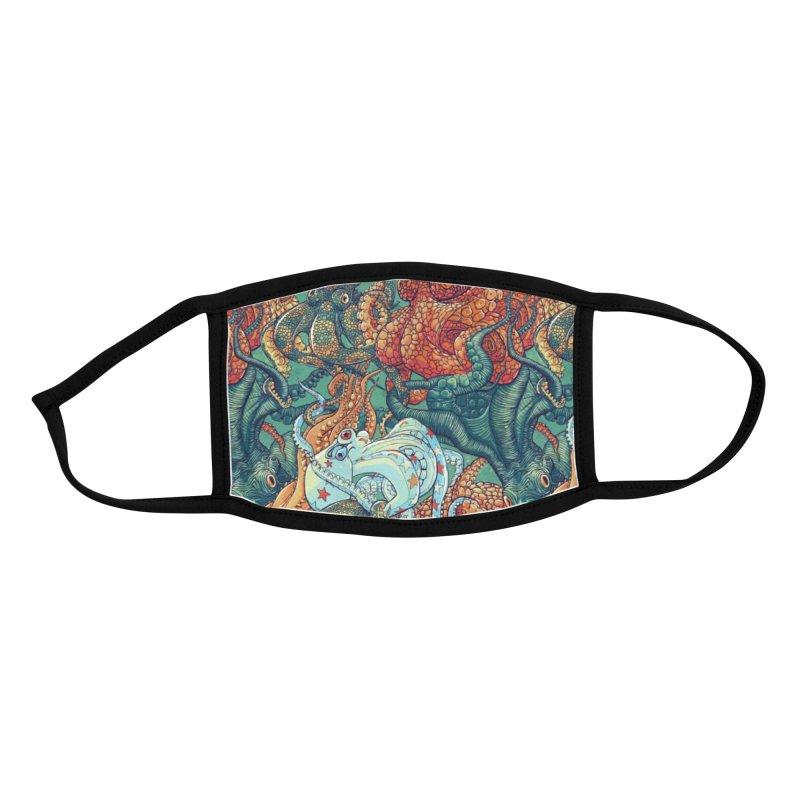 Octopus Party Accessories Face Mask by danilopezstudio's Artist Shop