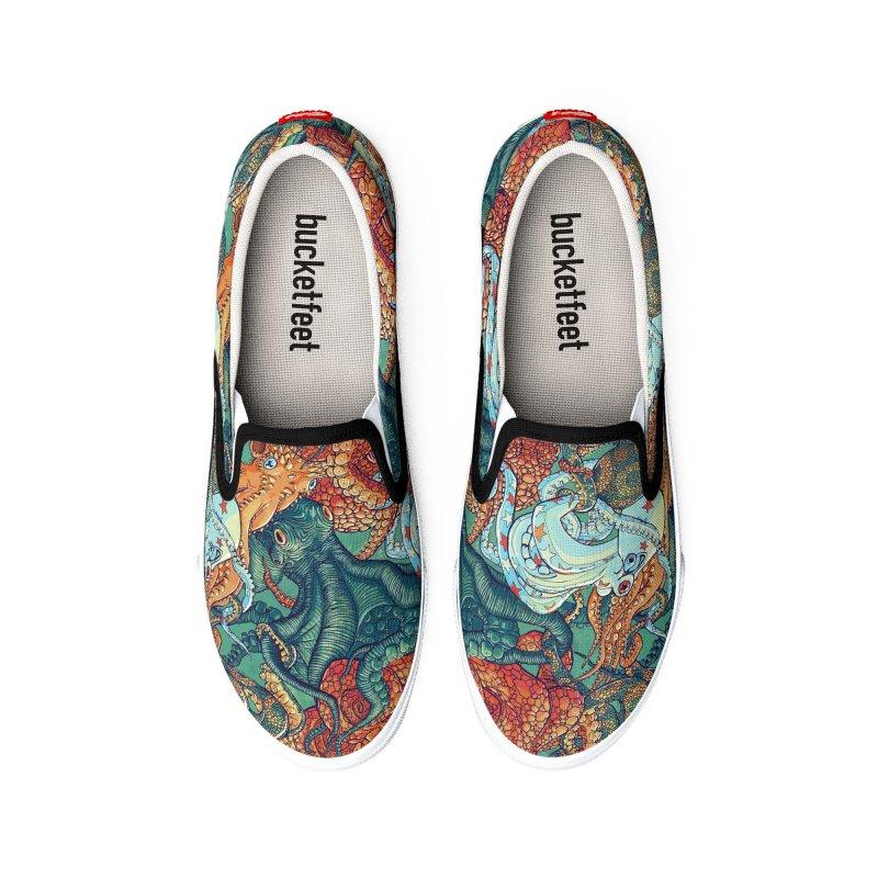 Octopus Party Men's Shoes by danilopezstudio's Artist Shop