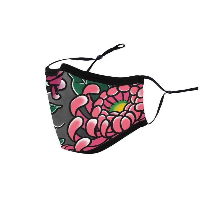 Chrysanthemums Face Mask Accessories Face Mask by danilopezstudio's Artist Shop