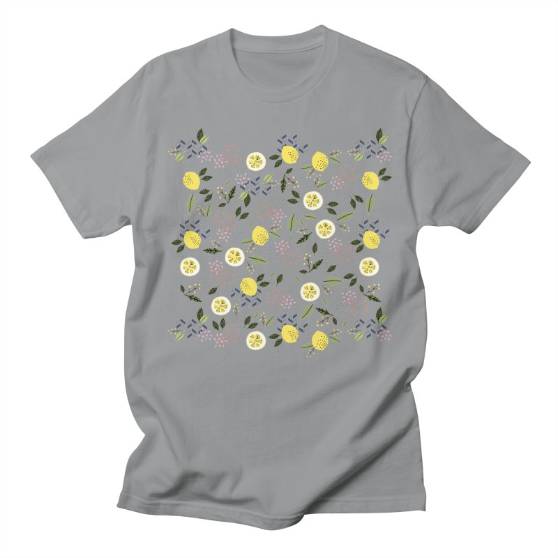 Lemon Love Women's Regular Unisex T-Shirt by Dani Vinokurov's Artist Shop