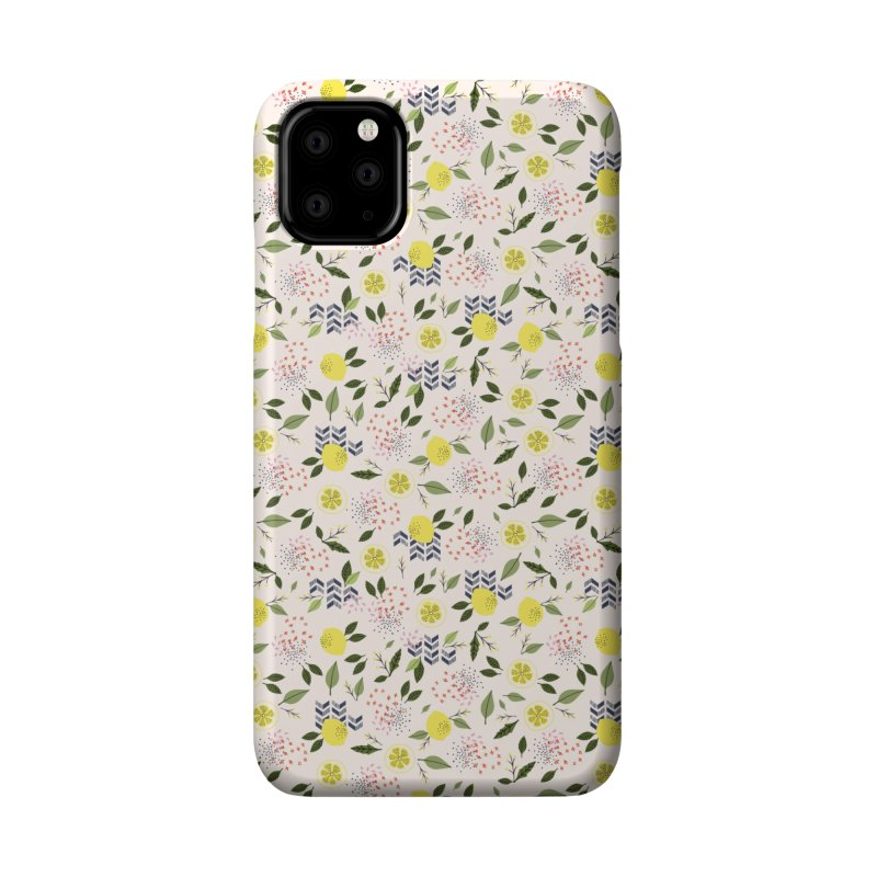 Lemon Love Accessories Phone Case by Dani Vinokurov's Artist Shop