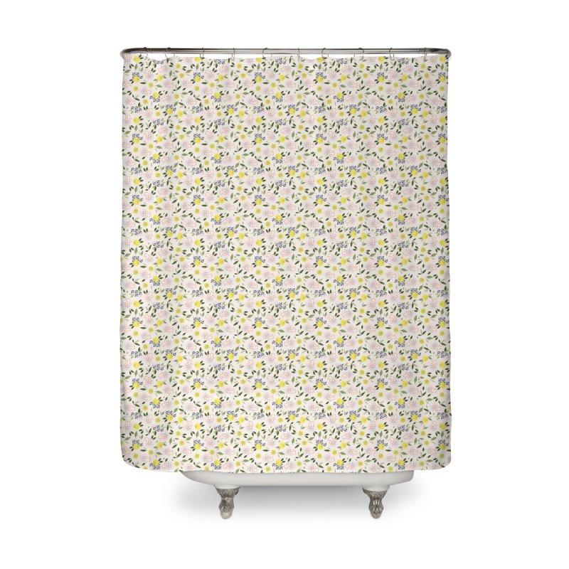 Lemon Love Home Shower Curtain by Dani Vinokurov's Artist Shop