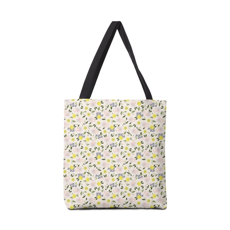 Lemon Love Accessories Tote Bag Bag by Dani Vinokurov's Artist Shop