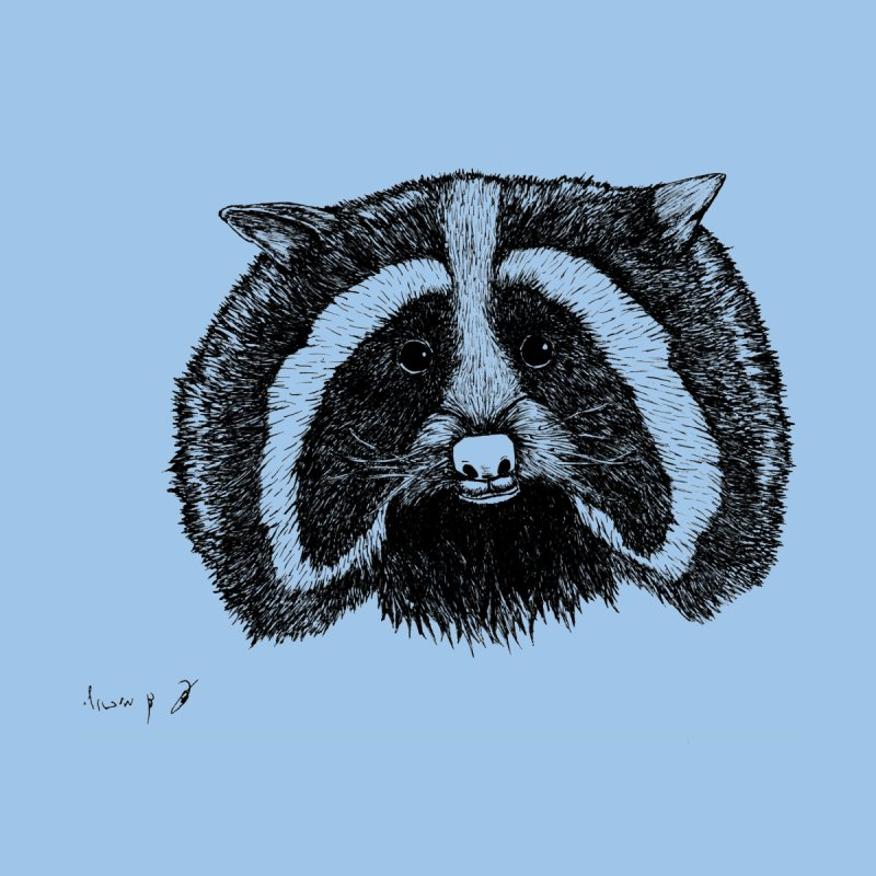 Raccoon Men's T-Shirt by danmichaeli's Artist Shop