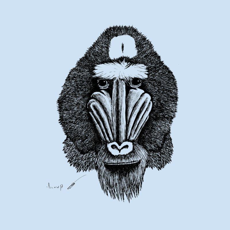 Mandrill monkey Home Duvet by danmichaeli's Artist Shop