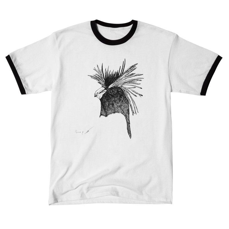 Royal penguin Men's T-Shirt by danmichaeli's Artist Shop