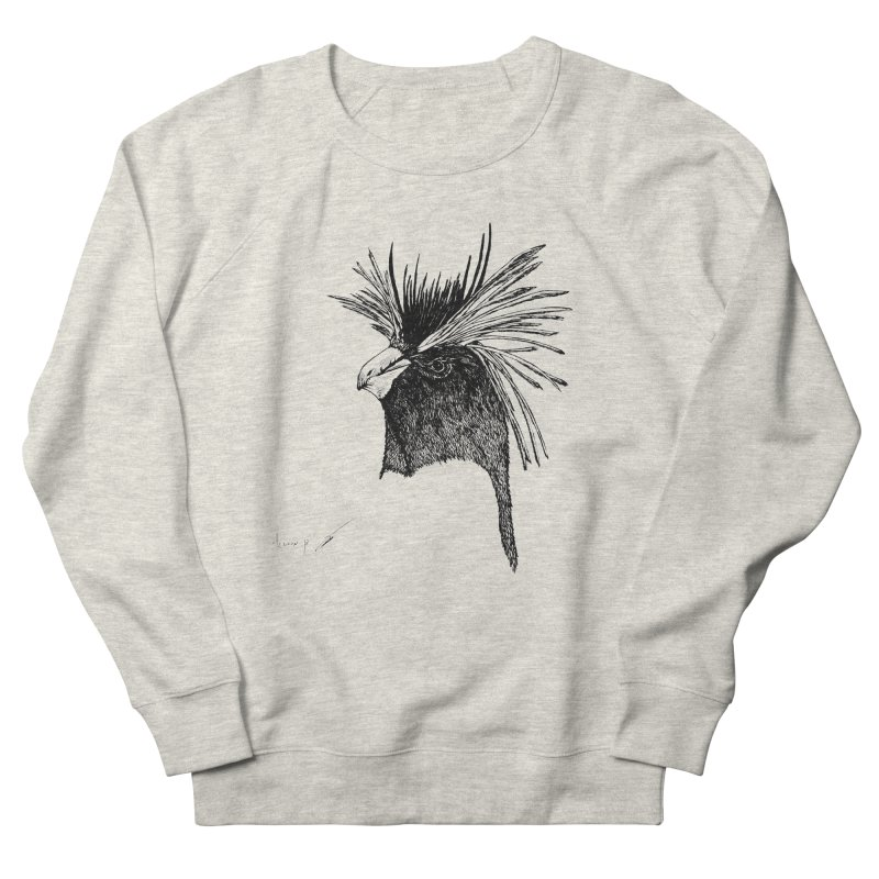 Royal penguin Men's Sweatshirt by danmichaeli's Artist Shop
