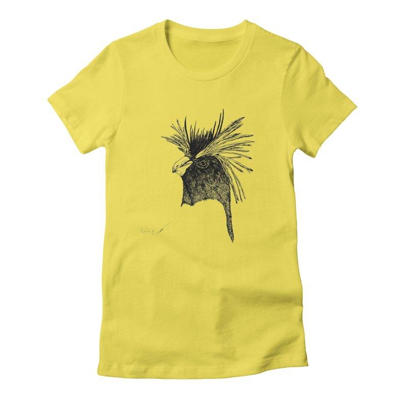 Royal penguin Women's T-Shirt by danmichaeli's Artist Shop