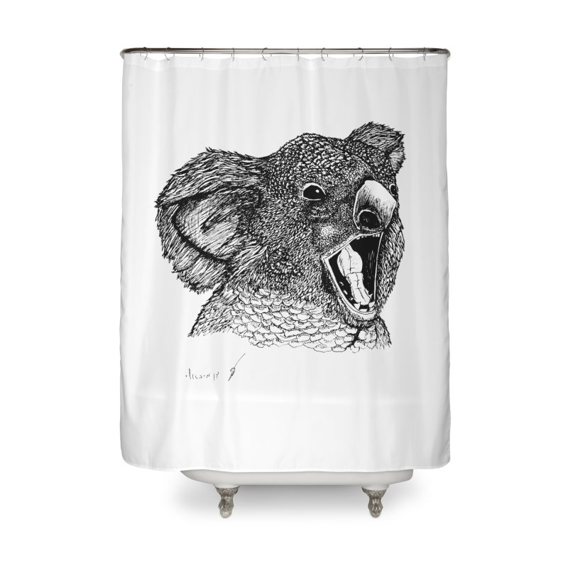 koala Home Shower Curtain by danmichaeli's Artist Shop