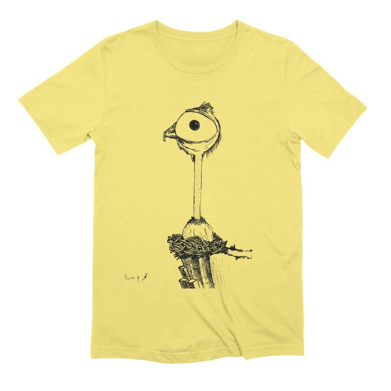 Baby Bird Men's T-Shirt by danmichaeli's Artist Shop