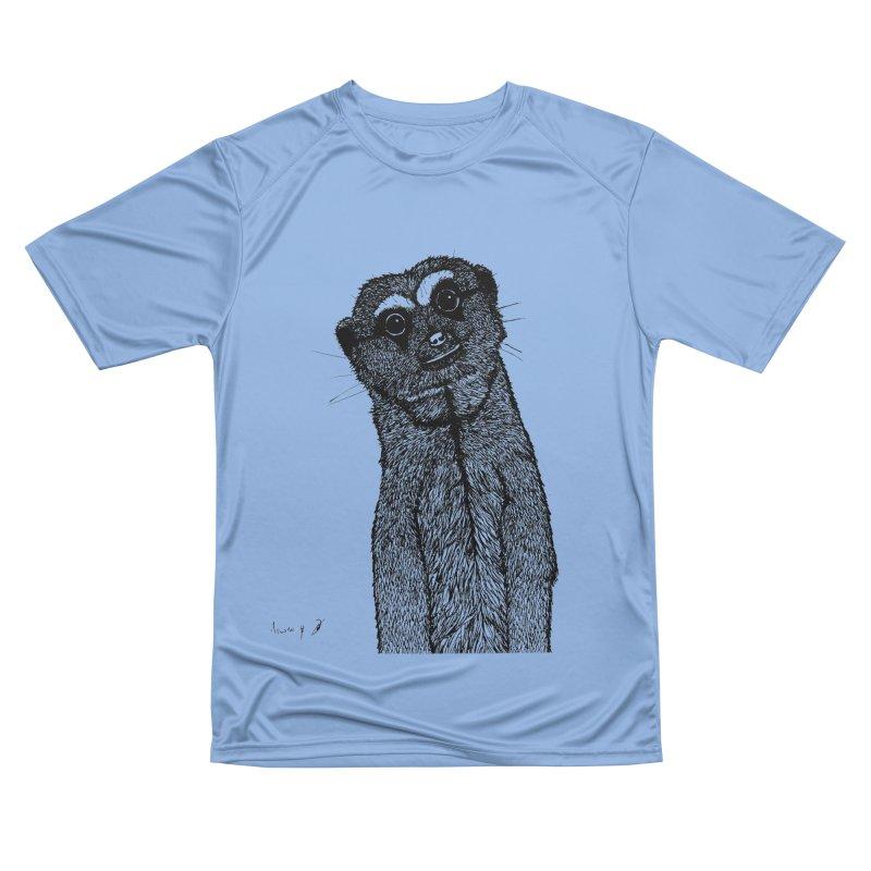 Suricata Men's T-Shirt by danmichaeli's Artist Shop