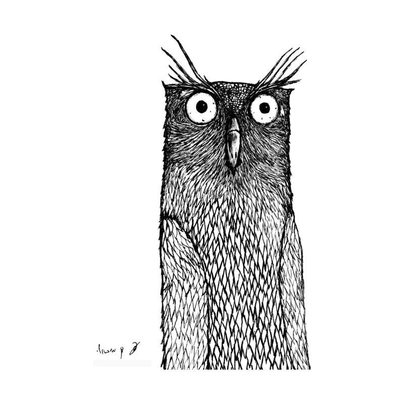 Owl Women's Tank by danmichaeli's Artist Shop