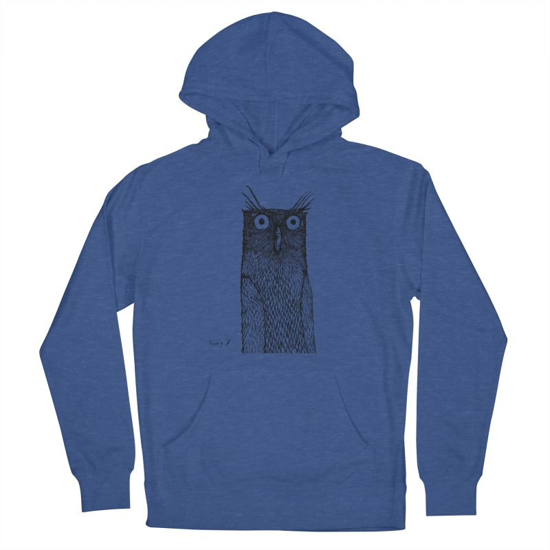 Owl Women's Pullover Hoody by danmichaeli's Artist Shop