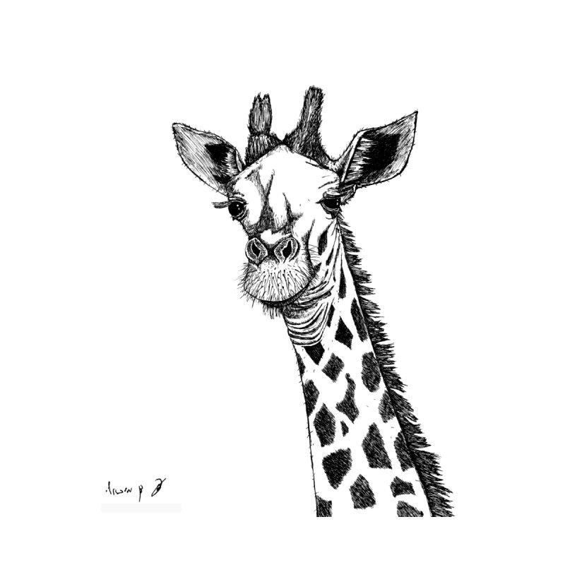 Giraffe Men's T-Shirt by danmichaeli's Artist Shop