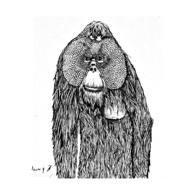 Orangutan Home Shower Curtain by danmichaeli's Artist Shop