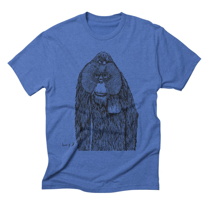 Orangutan Men's T-Shirt by danmichaeli's Artist Shop