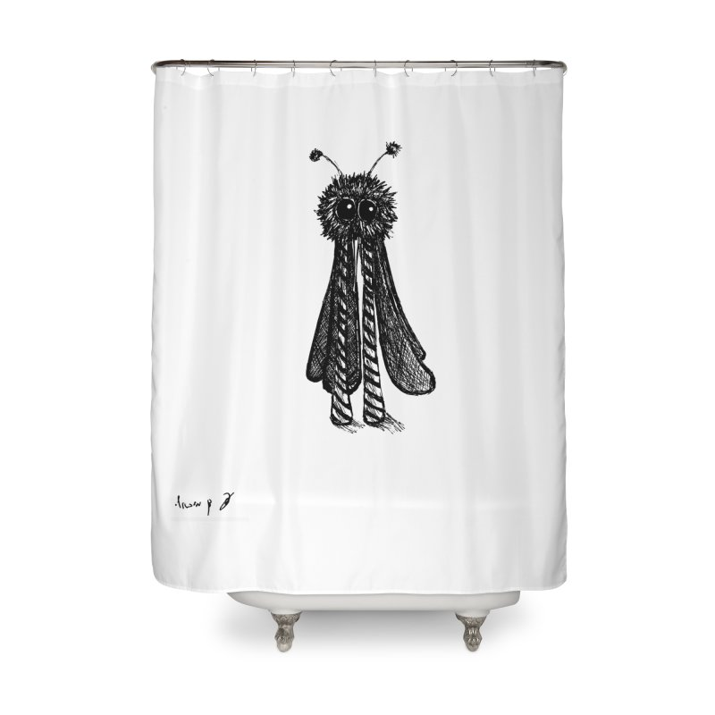 Mosquito Home Shower Curtain by danmichaeli's Artist Shop