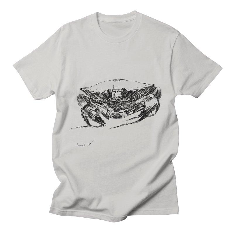 Crab Men's T-Shirt by danmichaeli's Artist Shop