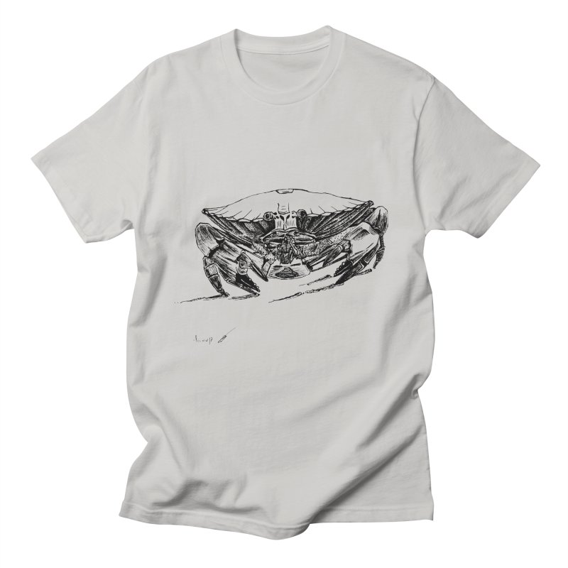 Crab Men's T-Shirt by danmichaeli's Artist Shop