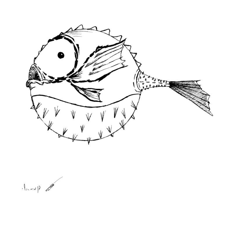 spike fish Accessories Notebook by danmichaeli's Artist Shop
