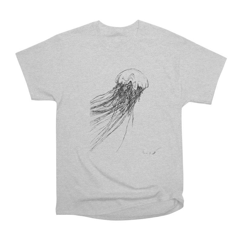jellyfish Men's T-Shirt by danmichaeli's Artist Shop