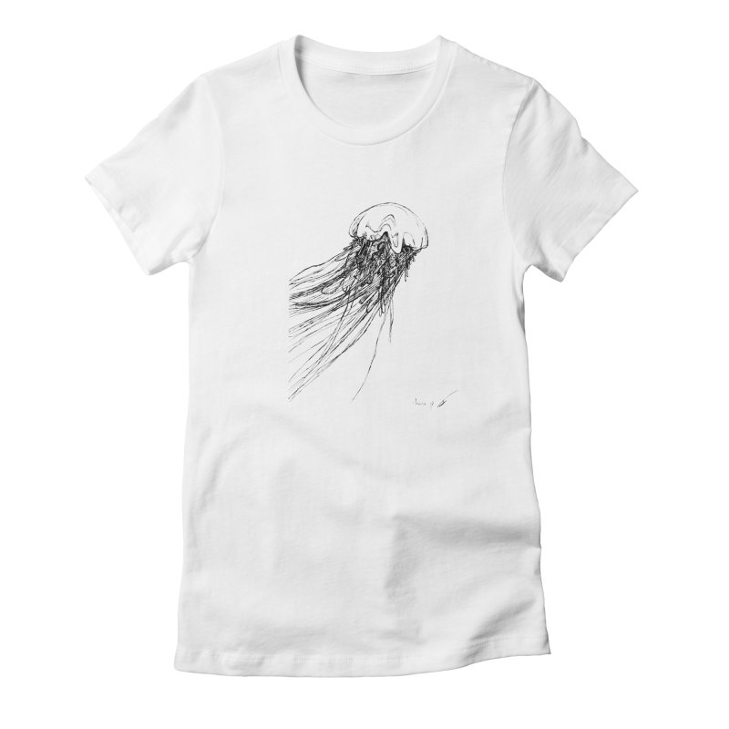 jellyfish Women's T-Shirt by danmichaeli's Artist Shop