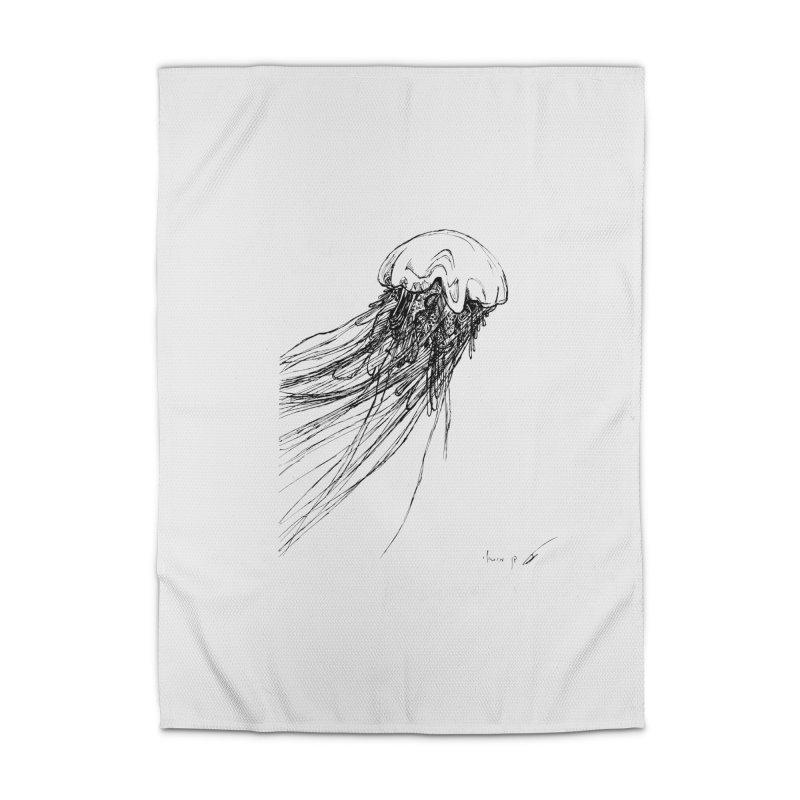 jellyfish Home Rug by danmichaeli's Artist Shop