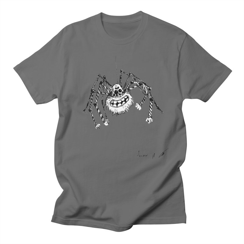 Happy spider Men's T-Shirt by danmichaeli's Artist Shop