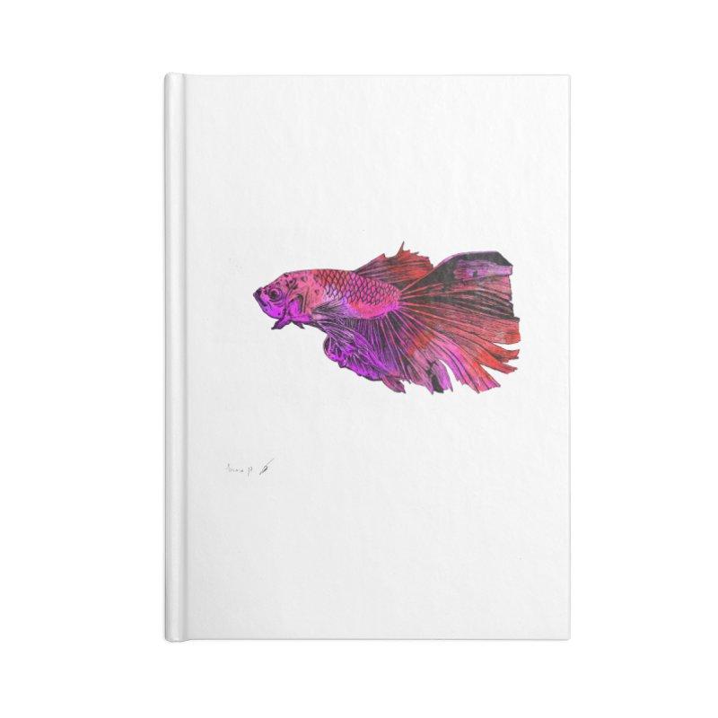 Fish color Accessories Notebook by danmichaeli's Artist Shop